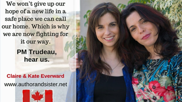 Kate & Claire Everward make their case to come to Canada on their Canada Guest blog
