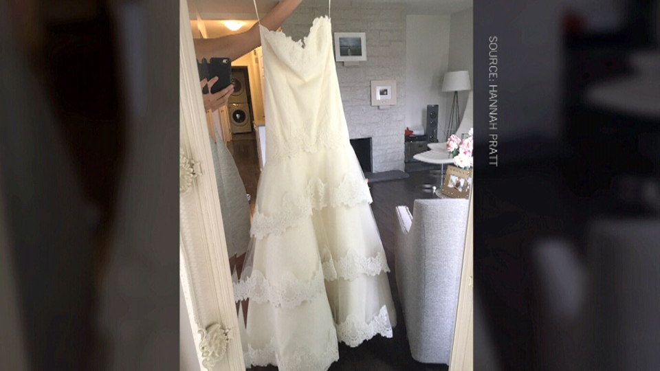 Wedding cancelled, Winnipeg woman gives away $1,300 gown to stranger ...