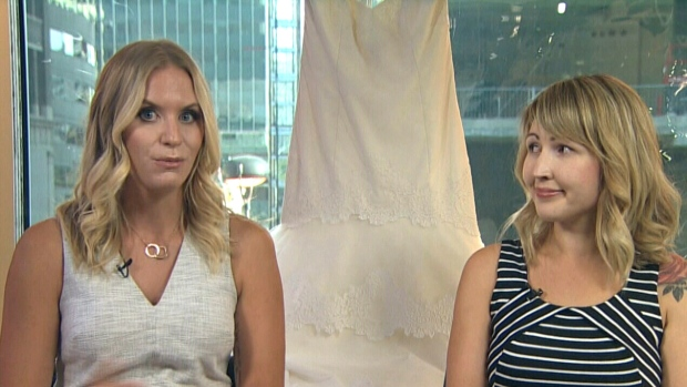 Wedding Cancelled Winnipeg Woman Gives Away 1300 Gown To Stranger
