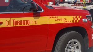 A Toronto Fire vehicle is pictured in this file photo. (Jorge Costa /CP24)