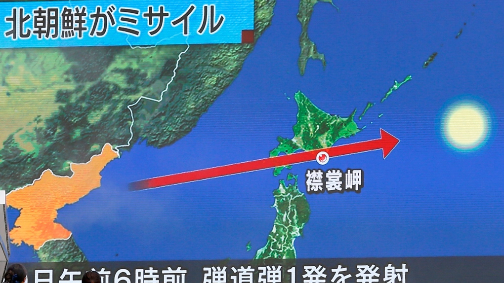 Will North Korea Make Missiles Over Japan The New Normal Ctv News