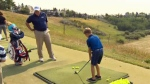 Junior golf clinic