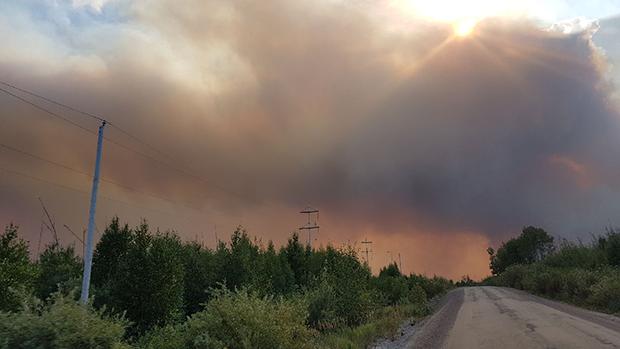 Aug 2017 Sask Wildfire