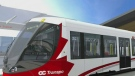 The Rideau Transit Group, the consortium in charge of building the LRT Confederation Line, says the bulk of construction for the project is complete, meaning trial testing can soon begin.