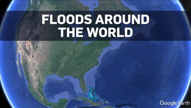 By the numbers: Five big floods around the world | CTV News