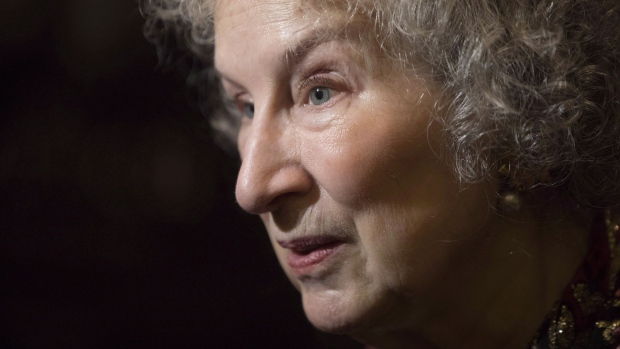 margaret atwood mulls over value of lord of the flies gender  author margaret atwood arrives at the toronto film critics association awards on tuesday 10 2017 the canadian press chris young