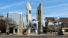 MacEwan University buildings in Edmonton