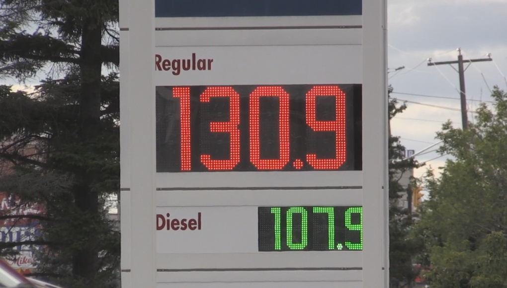 Gas Prices Spike Upwards Of 10 Cents Across The North Ctv News