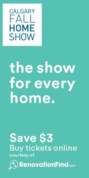 Calgary Fall Home Show 300x600
