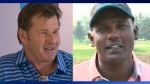 Nick Faldo and Vijay Singh - Shaw Charity