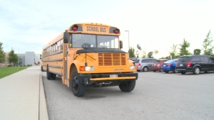 A school bus is pictured in this file photo.