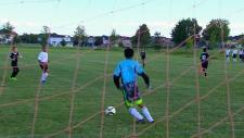 Schoolyard soccer
