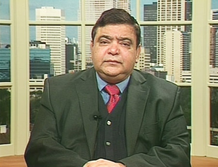 Deepak Obhrai, of the Department of Foreign Affairs and International Trade, speaks on Canada AM from CTV's studios in Calgary, Thursday, April 16, 2009.