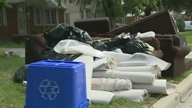 CTV Windsor: Flood garbage pickup