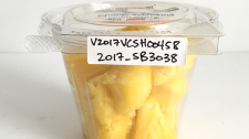 Western Family brand pineapple chunks