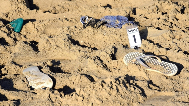 Rimini, Italy, where a beach attack happened