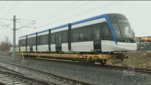 LRT train to be sent back to Bombardier