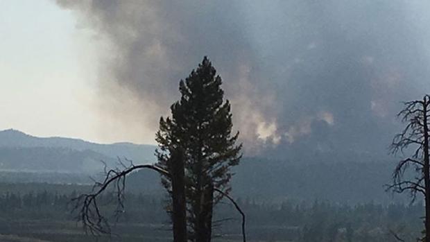 Kootenay wildfire