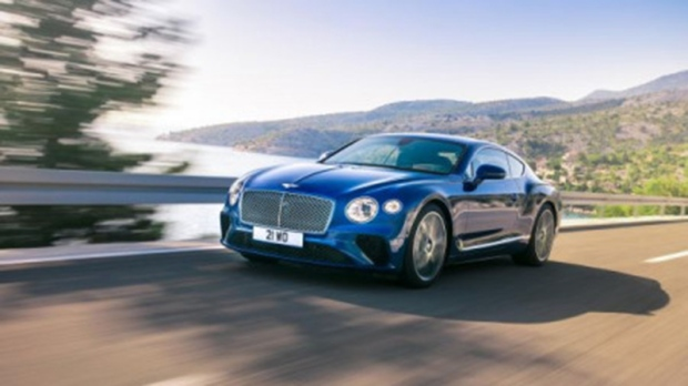 The third-generation Bentley Continental GT
