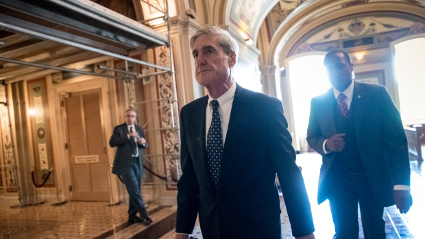 Special counsel Robert Mueller departs after a closed-door meeting with members of the Senate Judiciary Committee about Russian meddling in the election and possible connection to the Trump campaign, at the Capitol in Washington on June 21, 2017. (AP / J. Scott Applewhite)
