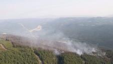 Philpot Road wildfire