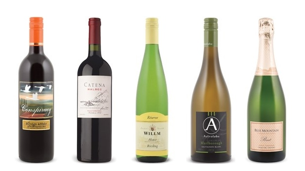 Natalie MacLean's Wines of the Week: Sept. 5, 2017