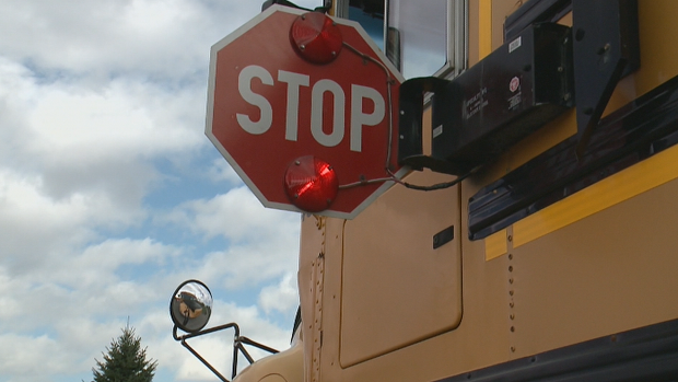 Driver fails to stop for school bus, almost hits child: OPP