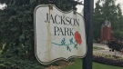 Entrance into Windsor's Jackson Park