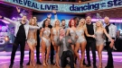 In this provided by American Broadcasting Companies, Inc., the cast of Season 25 of 'Dancing with the Stars,' is announced live on 'Good Morning America,' Wednesday, Sept. 6, 2017, in New York. (Lou Rocco/ABC via AP)