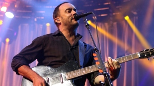In this June 28, 2013, file photo, Dave Matthews of The Dave Matthews Band performs onstage at the Susquehanna Bank Center in Camden, N.J. (Photo by Owen Sweeney/Invision/AP, File)
