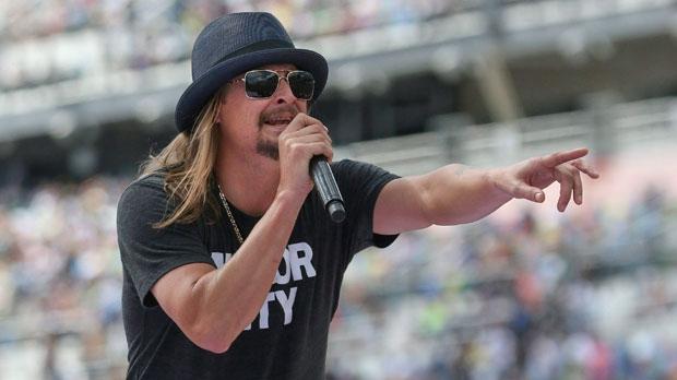 Kid rock keeps up criticism of kaepernick others at for Landscaping rocks daytona beach