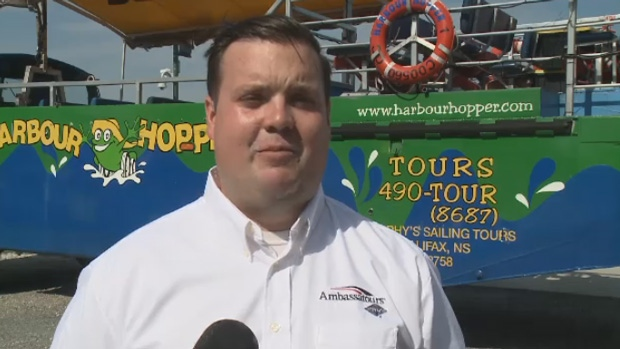Tour operator Mitch Owen says the positive response to the Sydney Harbour Hopper has been overwhelming.