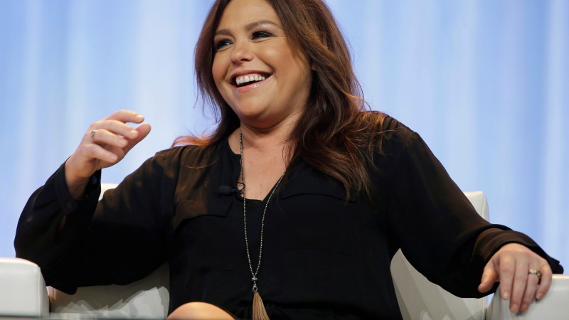 In this Thursday, Nov. 19, 2015, file photo, Rachael Ray speaks at the Pennsylvania Conference for Women in Philadelphia. Ray listed her home in the Hamptons for sale for nearly $5 million. (AP Photo/Matt Rourke, File)