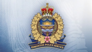 The Edmonton Police Service logo is seen in this file image.