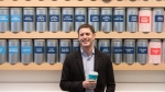 In this file photo, David's Tea co-founder David Segal is pictured at a DavidsTea outlet in Toronto on Tuesday, Feb. 9, 2016. (THE CANADIAN PRESS / Chris Young)