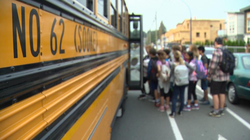 Sooke school bus