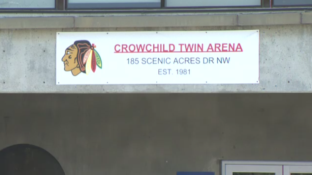 The Crowchild Hockey Association hasn't announced how it plans to deal with the complaints about the logo.