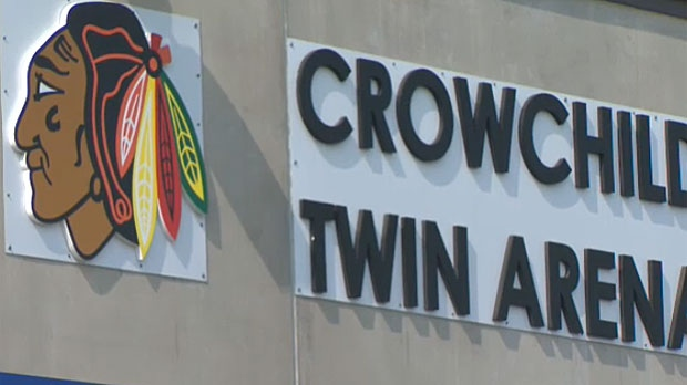 A young girl refuses to suit up for the Northwest Warriors minor hockey team because she says the logo is offensive.