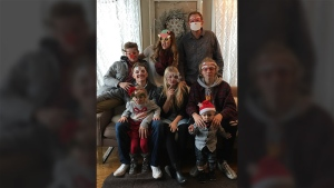 Michigan woman Carrie DeKlyen refused cancer treatment to give birth to her sixth child. (GoFundMe)