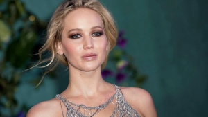 Jennifer Lawrence poses for photographers upon arrival at the premiere of the film 'Mother', in London, Wednesday, Sept. 6, 2017. (Photo by Vianney Le Caer/Invision/AP)
