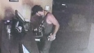 Armando's released video to CTV News hoping to help police find the suspect. (Courtesy Armando's Pizza)
