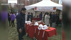 Sien Lok Park - sod turning 1998