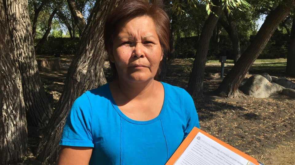 Carmel Crowchild alleges her daughter was assaulted by staff members at a summer camp.