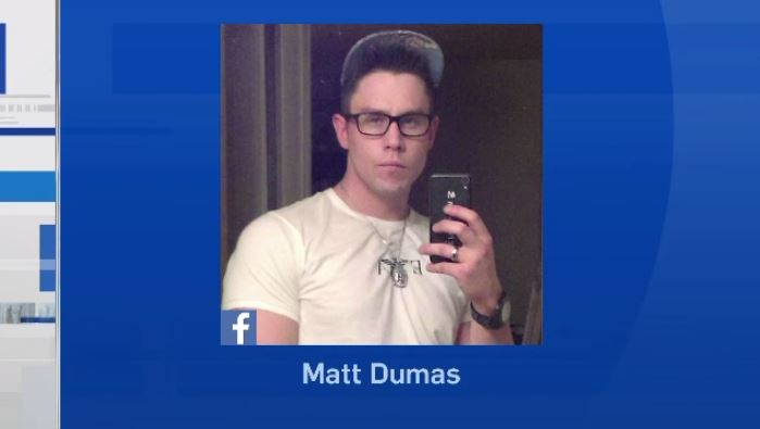 Friends and family are identifying the man killed by police as 30-year-old Matt Dumas. Facebook.