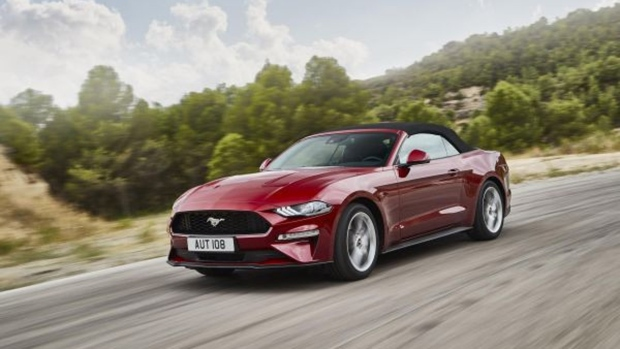 Ford reveals new Mustang model for Europe