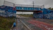 Coxheath graffiti
