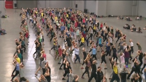 CTV Montreal: Line-dance party