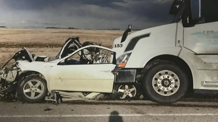 Truck driver sentenced for crash that killed teens | CTV News Regina