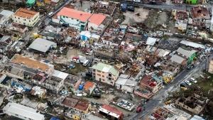 Aftermath of Hurricane Irma, in St. Maarten