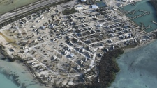 Florida Keys damaged by Irma